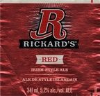 CAN - Molson's Brew - Rickard's Red